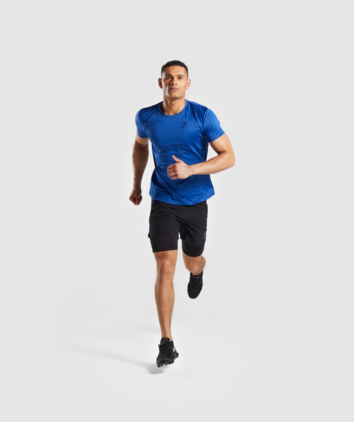 Gymshark Contemporary T-Shirt - Blue 2