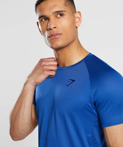 Gymshark Contemporary T-Shirt - Blue 4