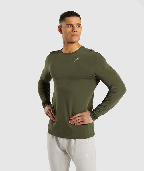 Gymshark Critical Long Sleeve T-Shirt - Green 2
