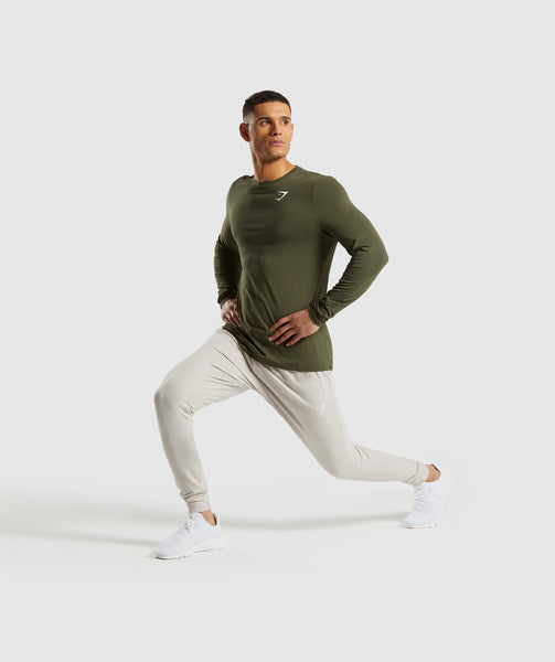 Gymshark Critical Long Sleeve T-Shirt - Green 3