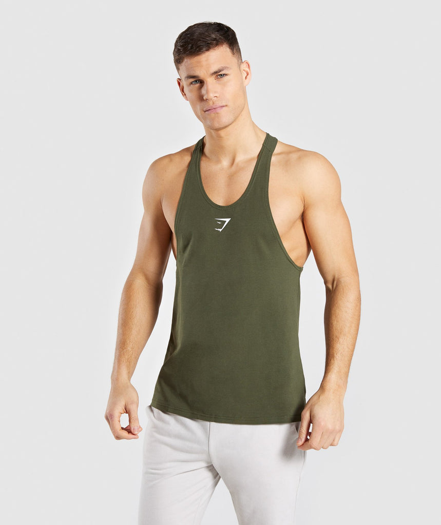 Gymshark Critical Stringer - Green 1