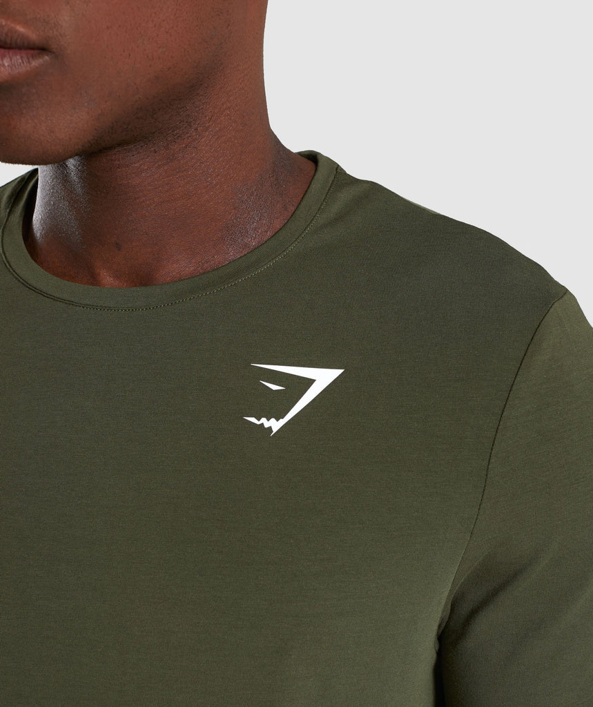 Gymshark Critical T-Shirt - Green 6