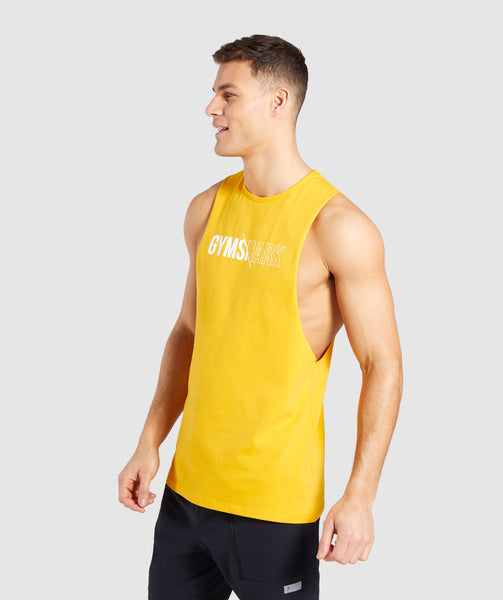 Gymshark Distort Tank - Citrus Yellow 2