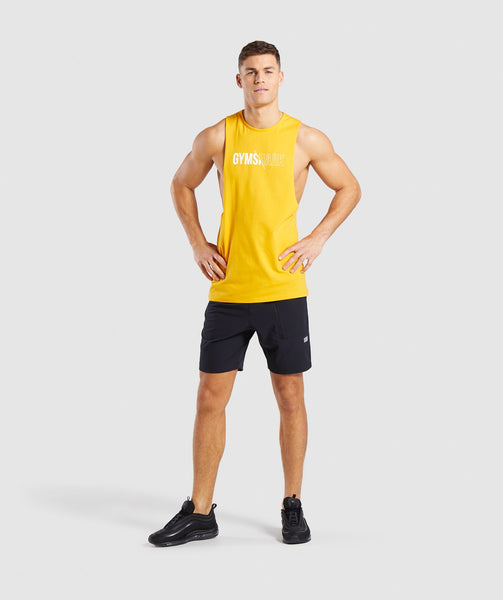 Gymshark Distort Tank - Citrus Yellow 3