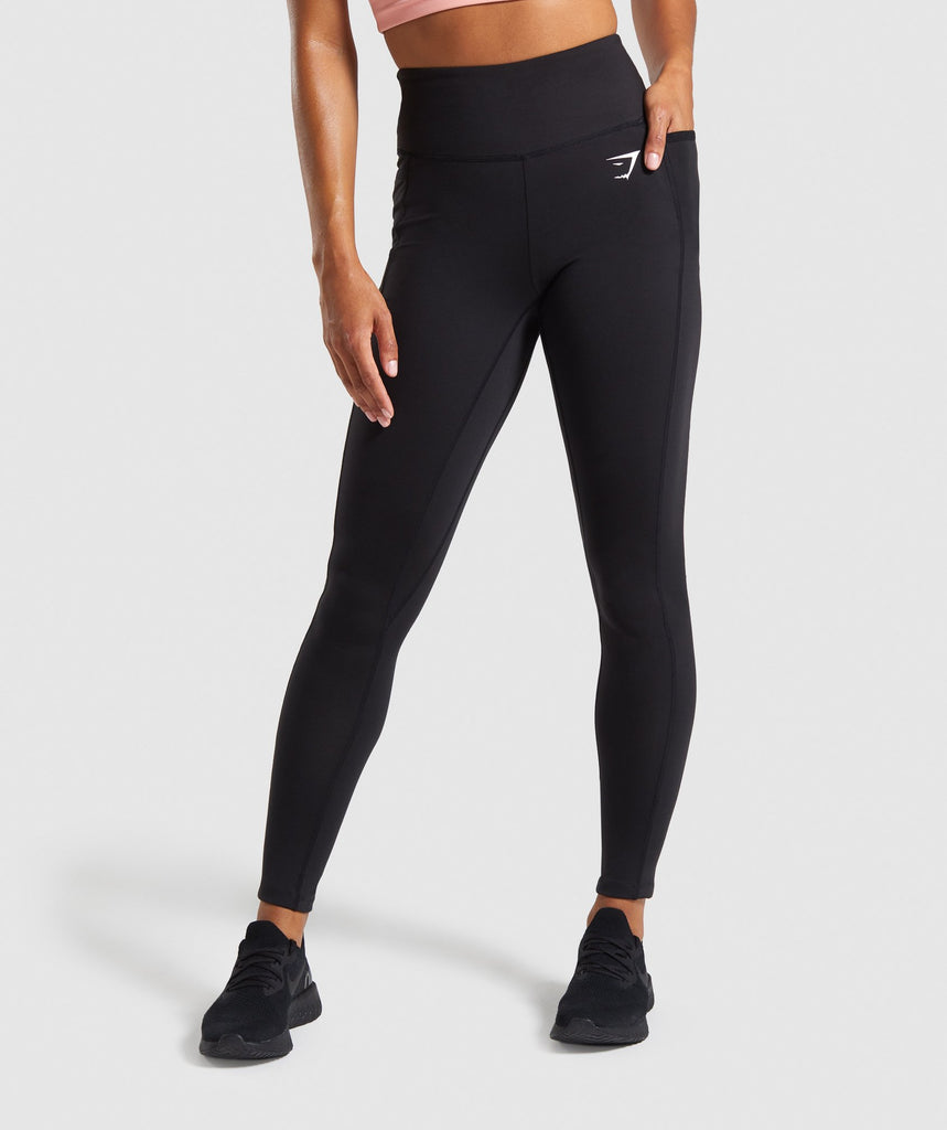 Gymshark Dreamy Leggings 2.0 - Black 1