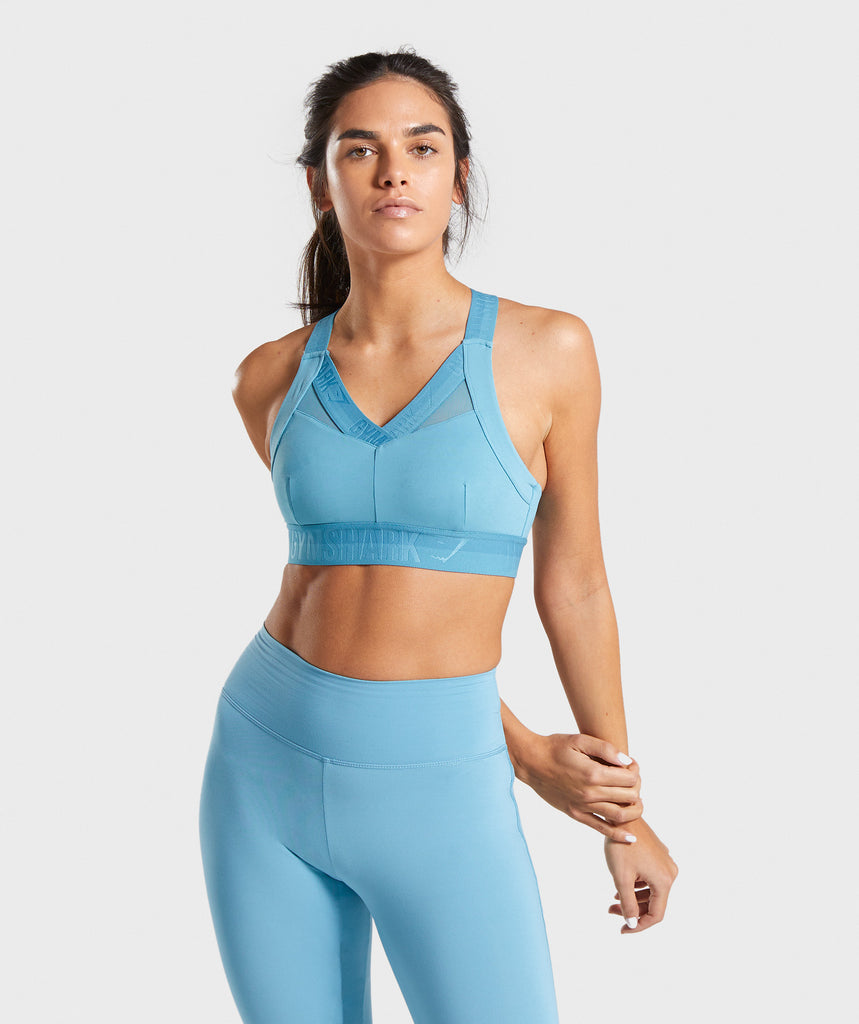 Gymshark Empower Sports Bra - Dusky Teal 4