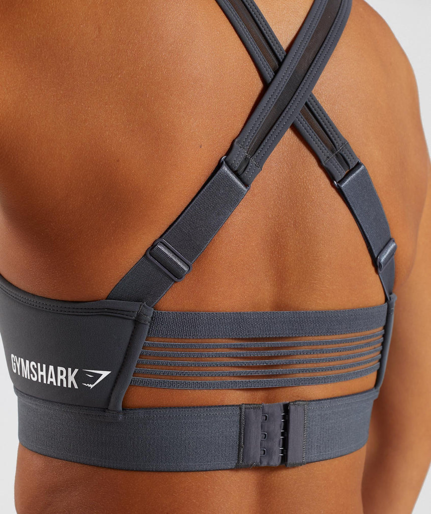 Gymshark Endurance Sports Bra - Charcoal 5