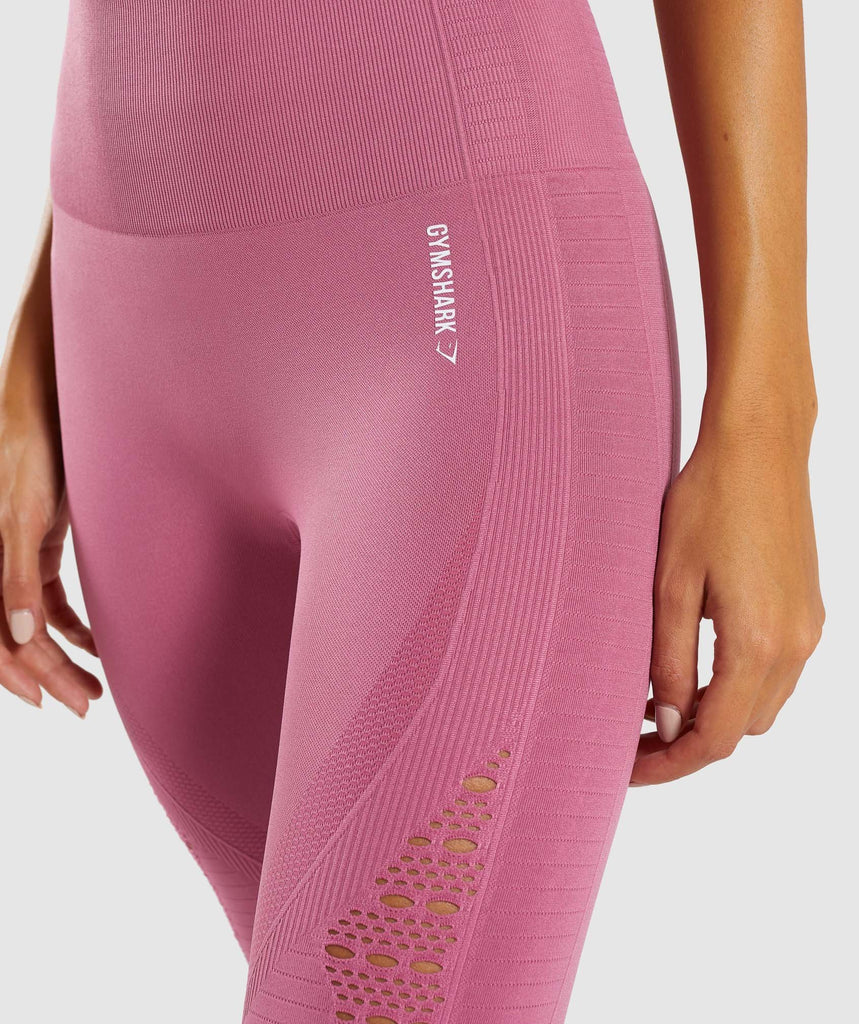Gymshark Energy+ Seamless Leggings - Dusky Pink 5