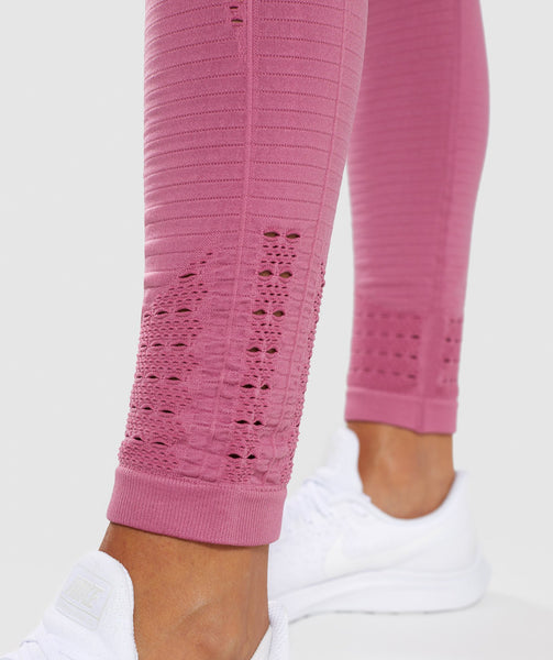 Gymshark Energy+ Seamless Leggings - Dusky Pink 4