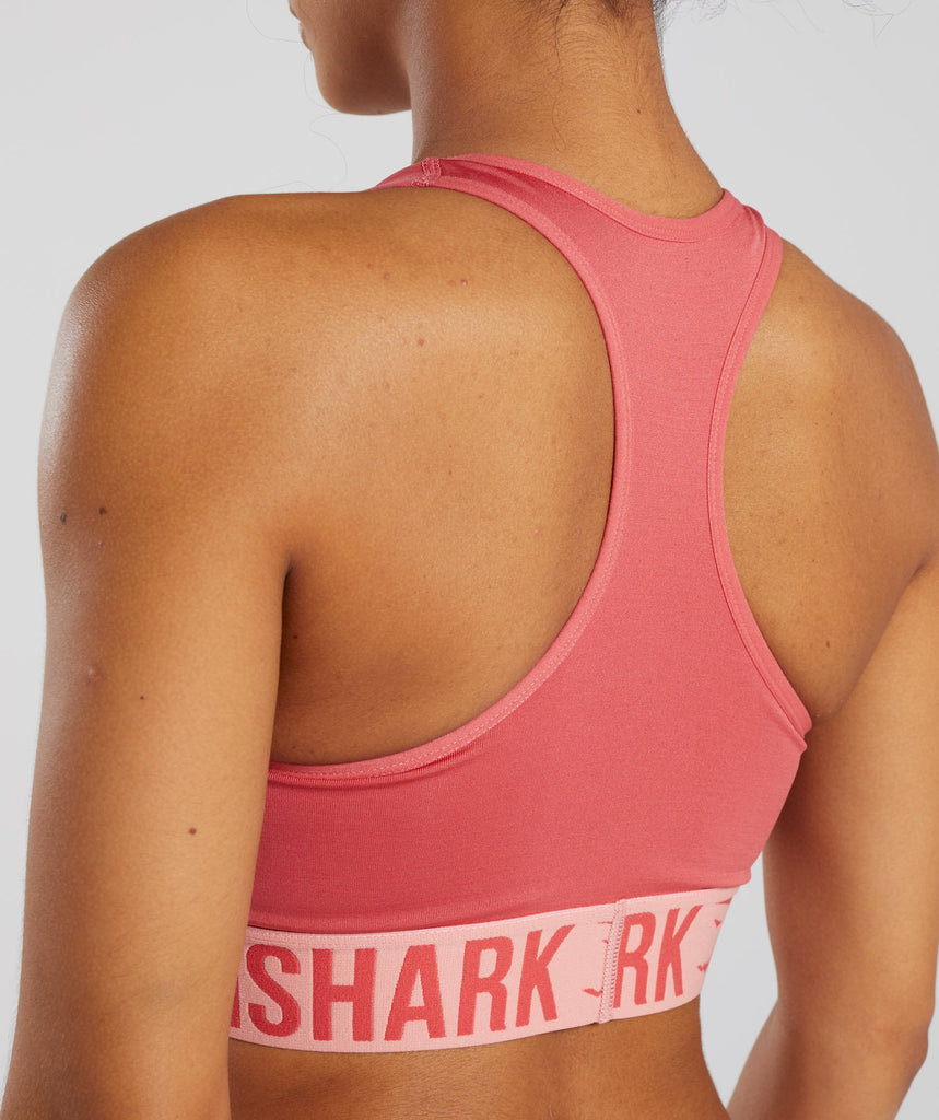 Gymshark Fit Sports Bra - Orange 6