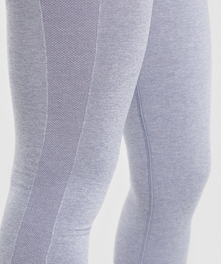 Gymshark Flex High Waisted Leggings - Blue/Grey 5
