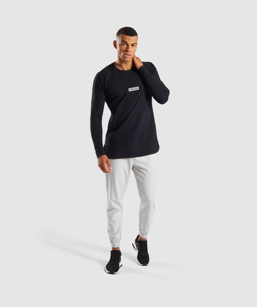 Gymshark Fresh Long Sleeve T-Shirt - Black 3
