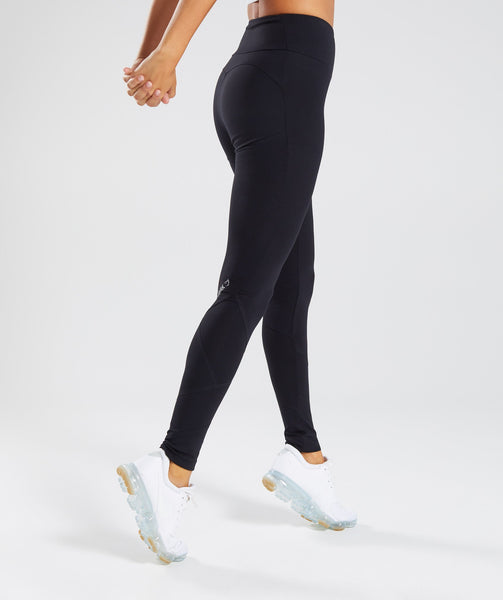 Gymshark Fused Ankle Leggings - Black 1