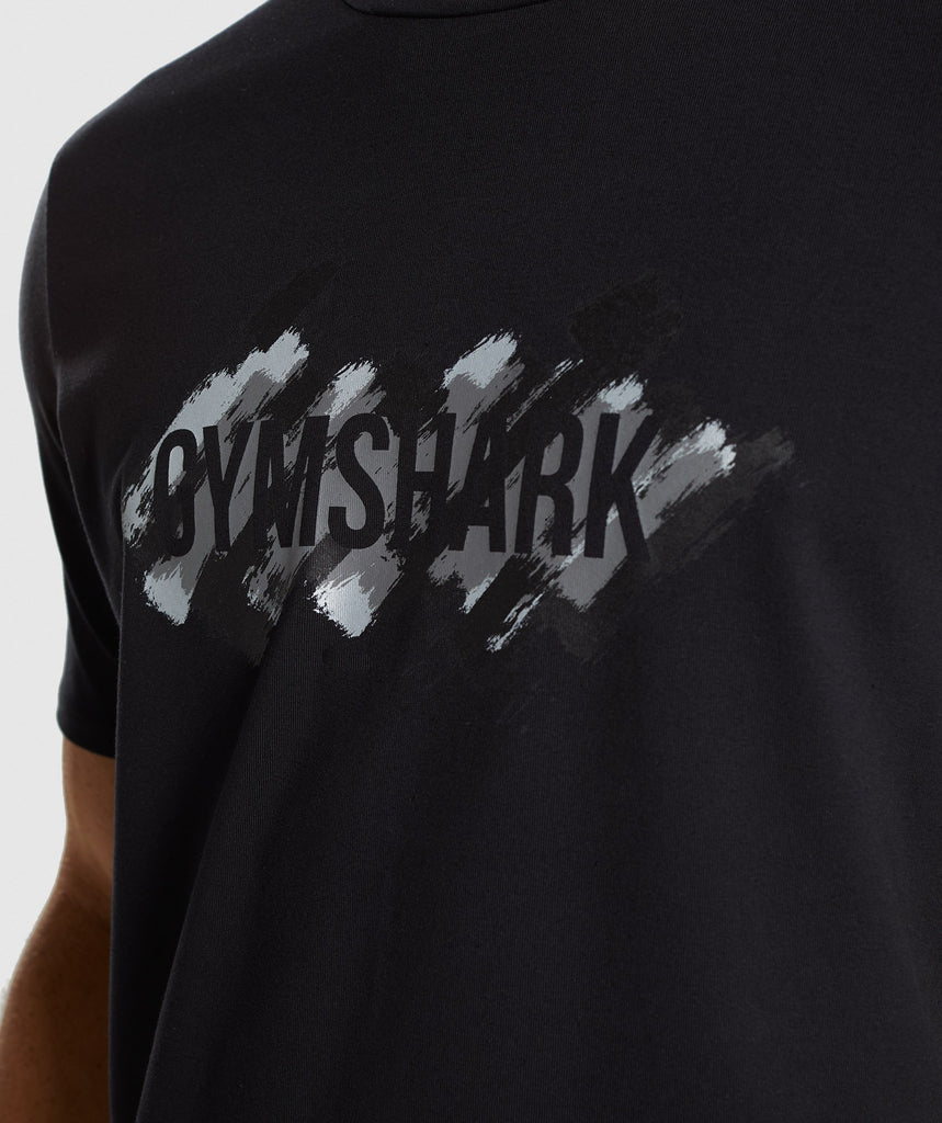 Gymshark Etch T-Shirt - Black 5