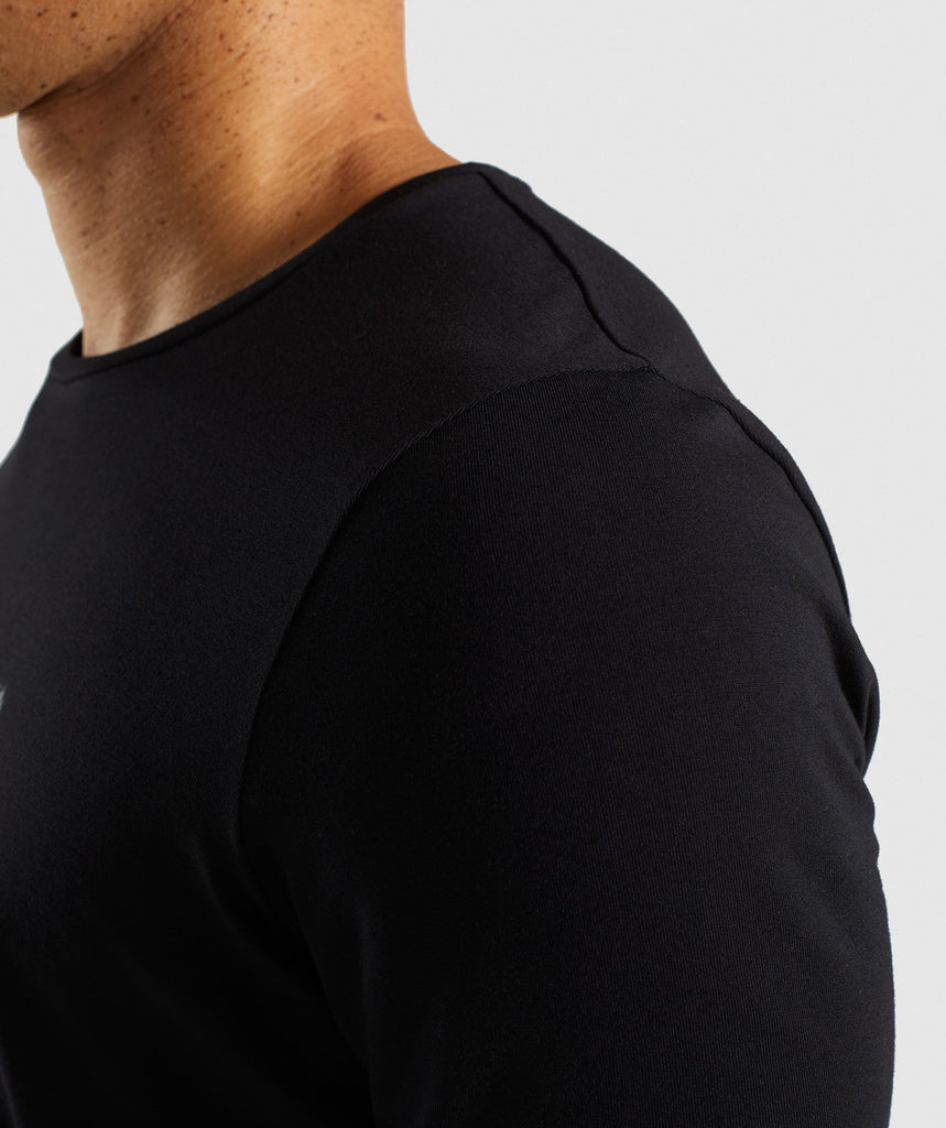 Gymshark Etch T-Shirt - Black 6