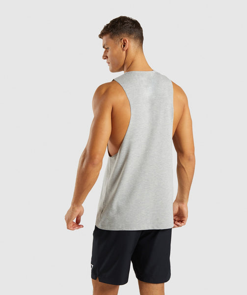 Gymshark Score Tank - Light Grey Marl 1