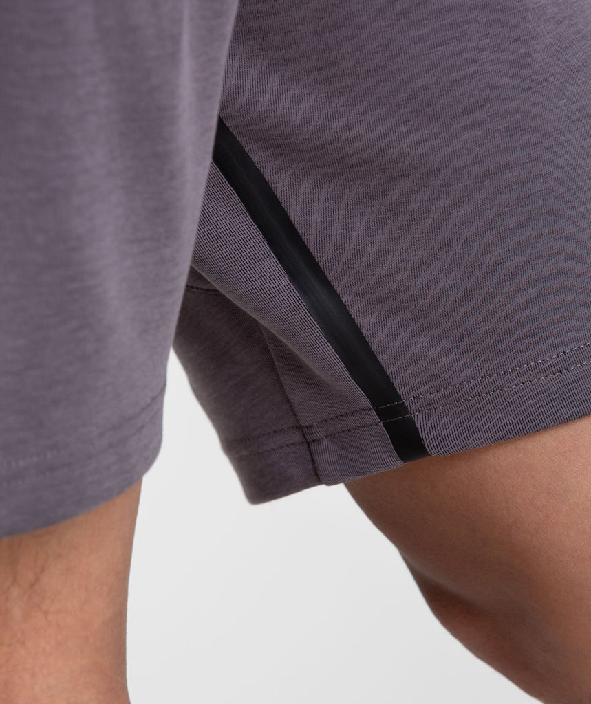 Gymshark Take Over Shorts - Slate Lavender Marl 6