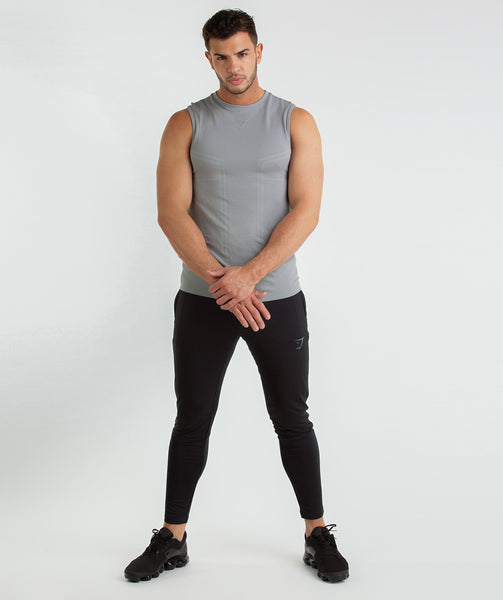 Gymshark Onyx Imperial Tank - Light Grey 3