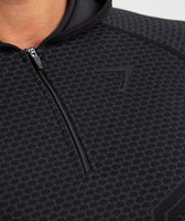 Gymshark Onyx Imperial Long Sleeve Hooded Top - Black 11
