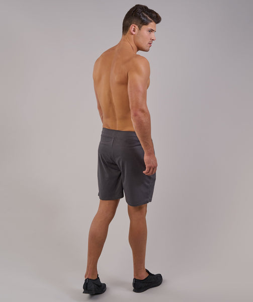 Gymshark Free Flow Shorts - Charcoal 1