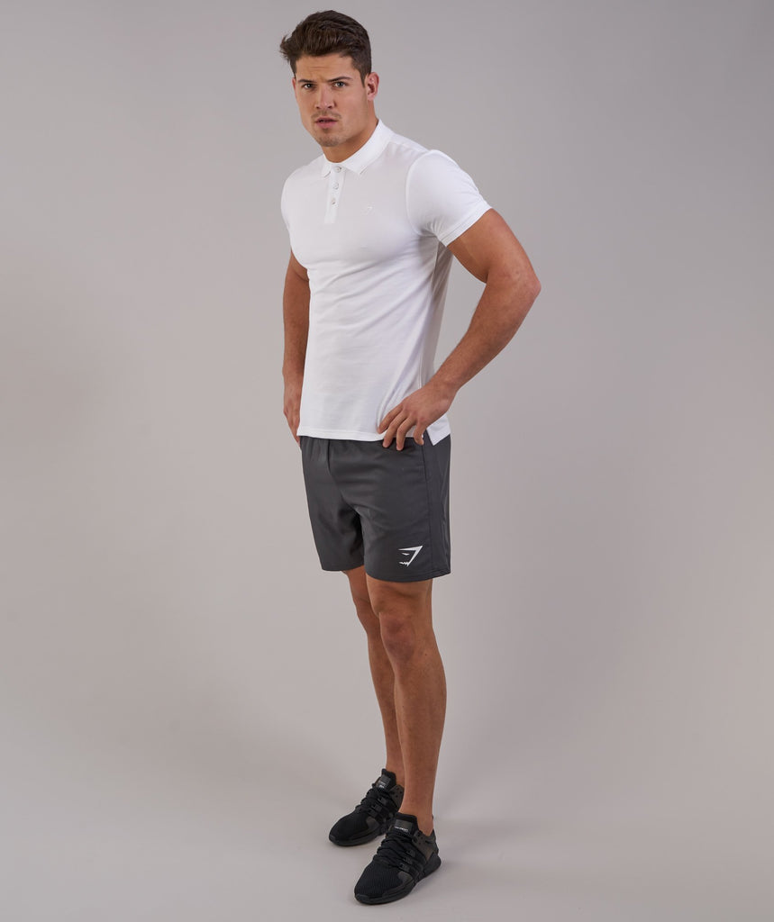 Gymshark Ace Polo - White 2