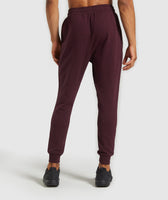 Gymshark Legacy Plus Joggers - Dark Red 8