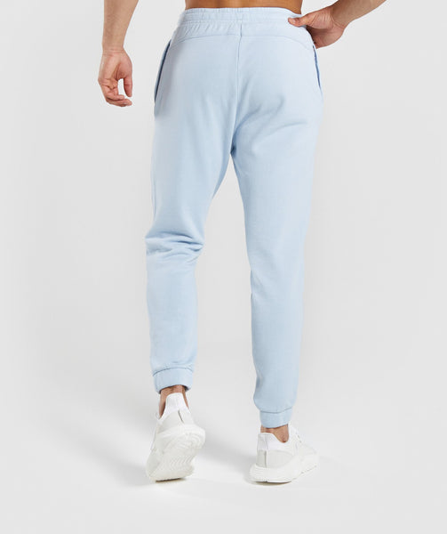 Gymshark Laundered Joggers - Light Blue 1