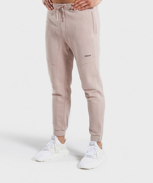 Gymshark Laundered Joggers - Nude 4