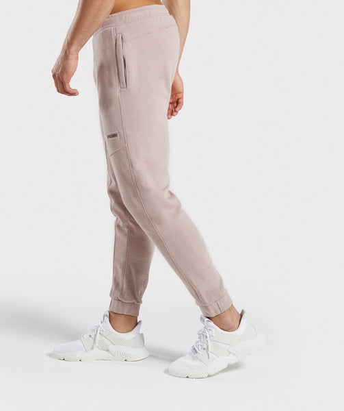 Gymshark Laundered Joggers - Nude 2