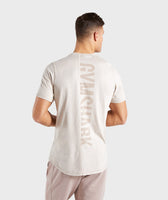 Gymshark Laundered T-Shirt - Chalk Grey 8