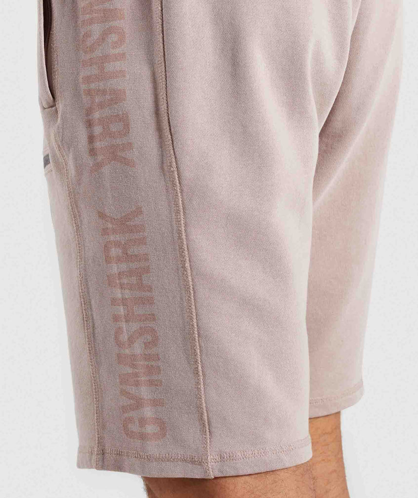 Gymshark Laundered Shorts - Nude 5