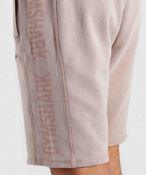 Gymshark Laundered Shorts - Nude 4