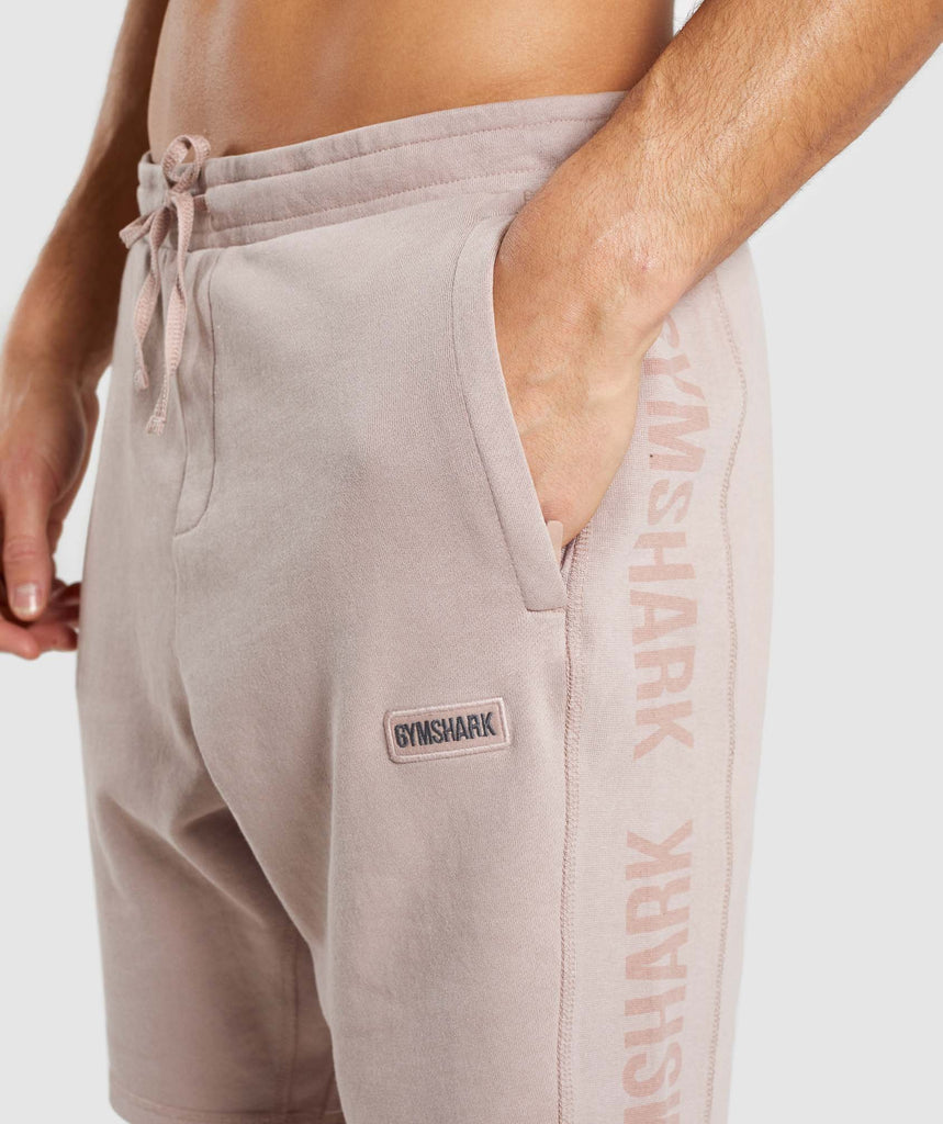 Gymshark Laundered Shorts - Nude 6