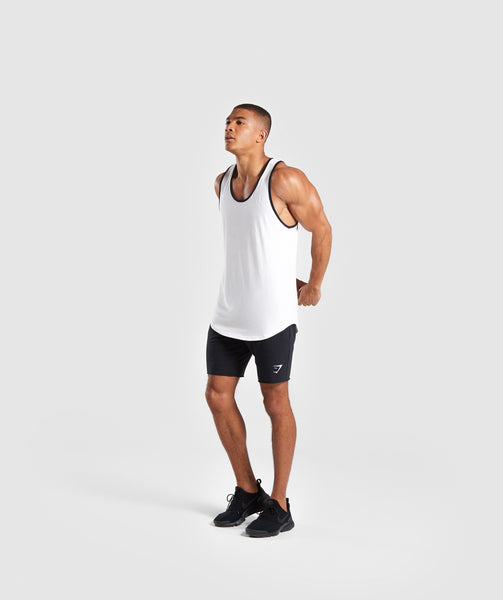 Gymshark Legacy Luxe Tank - Chalk White 3