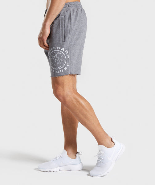Gymshark Legacy Plus Shorts - Grey 4