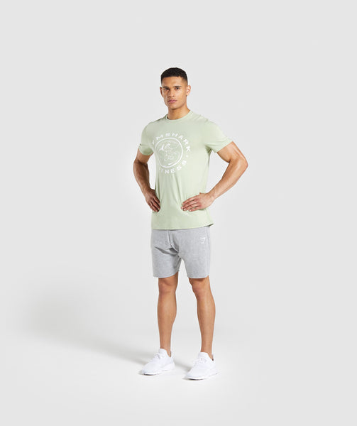 Gymshark Legacy T-Shirt - Light Green 3