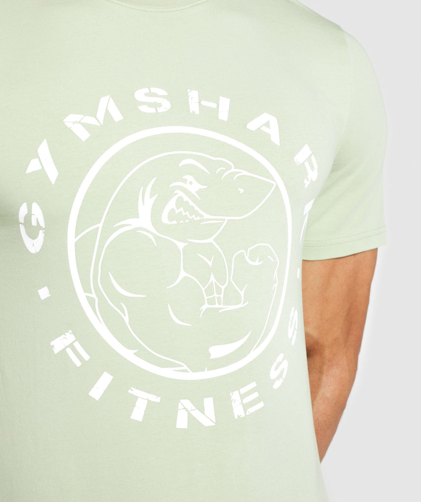 Gymshark Legacy T-Shirt - Light Green 6