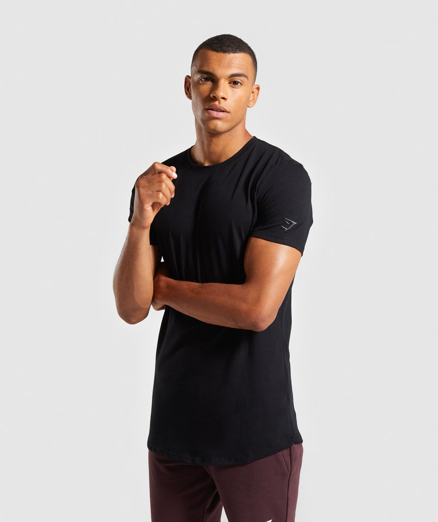 Gymshark Living T-Shirt - Black 1