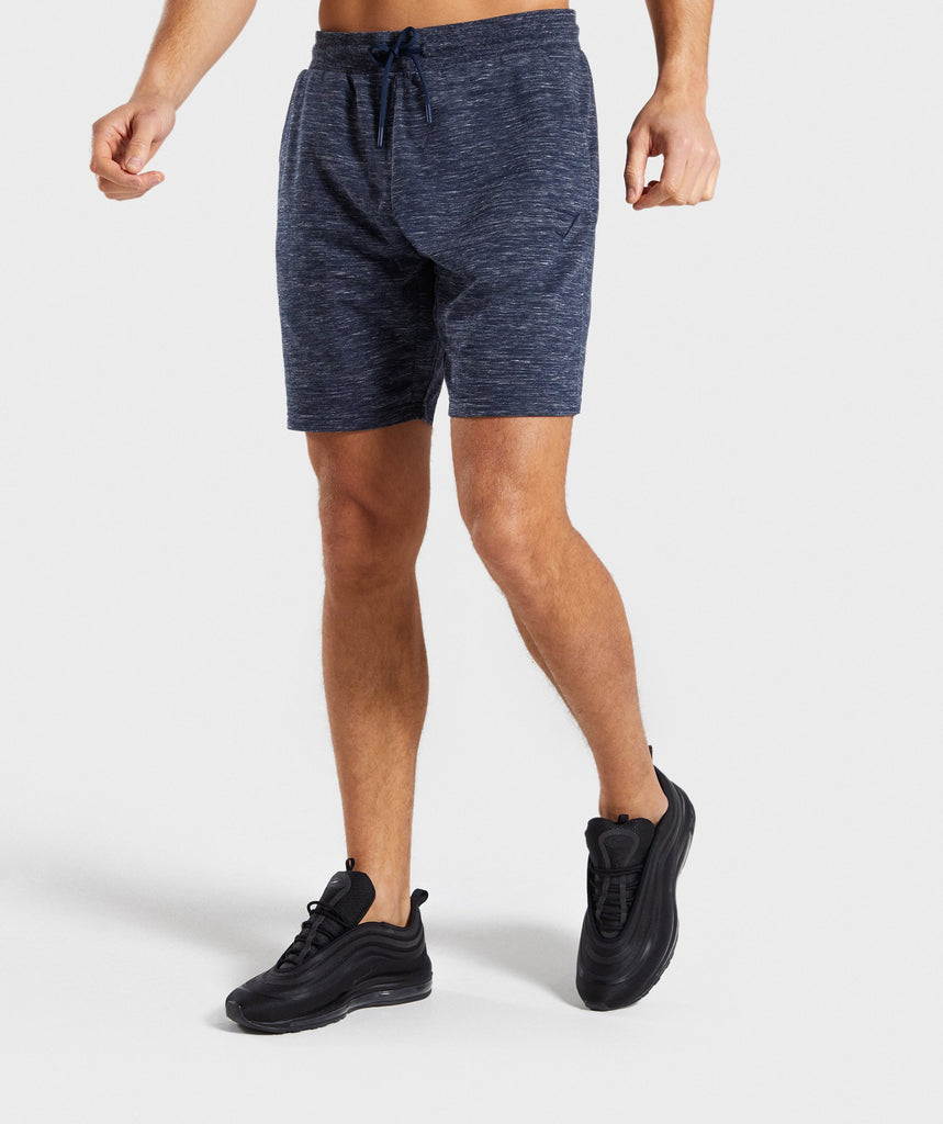 Gymshark Lounge Shorts - Navy Marl 1