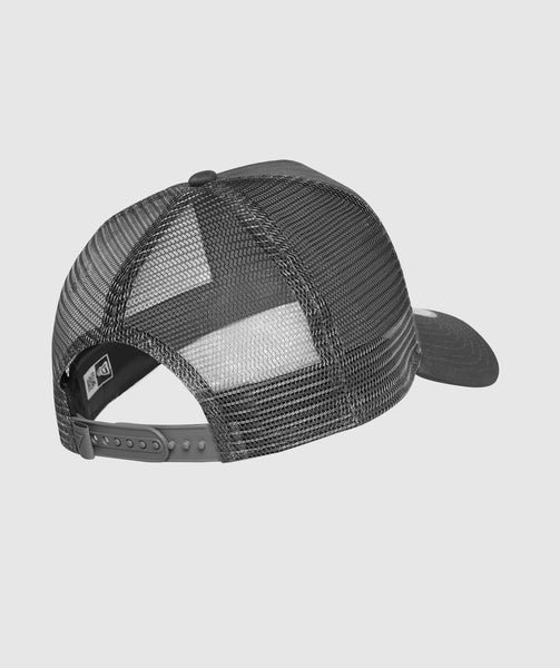 Gymshark New Era Mesh Trucker - Graphite/White 1