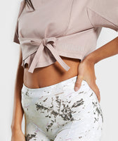 Gymshark Ori Crop Top - Taupe 10