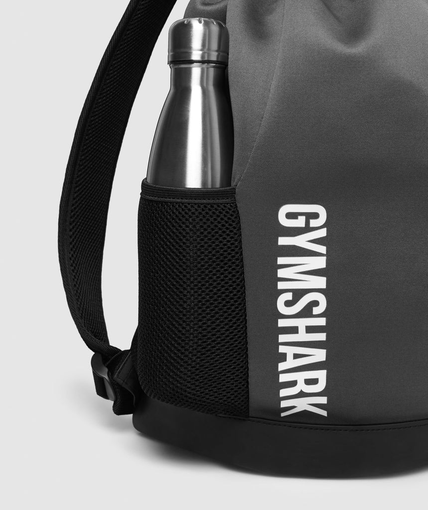 Gymshark Power Down Backpack - Charcoal 6