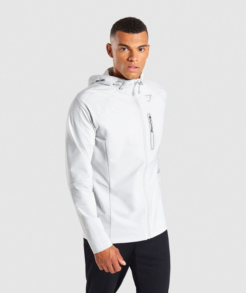 Gymshark Pace Running Jacket - Wolf Grey 1