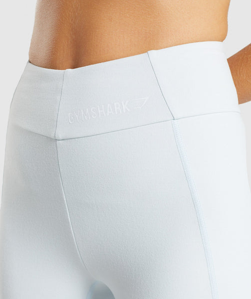 Gymshark Pastel Cycling Shorts - Ice Blue 4