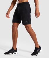 Gymshark Pinnacle Knit Shorts - Black Marl 9