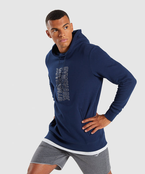 Gymshark Profile Pullover - Sapphire Blue 4