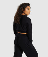 Gymshark Relaxed Sweater - Black 8