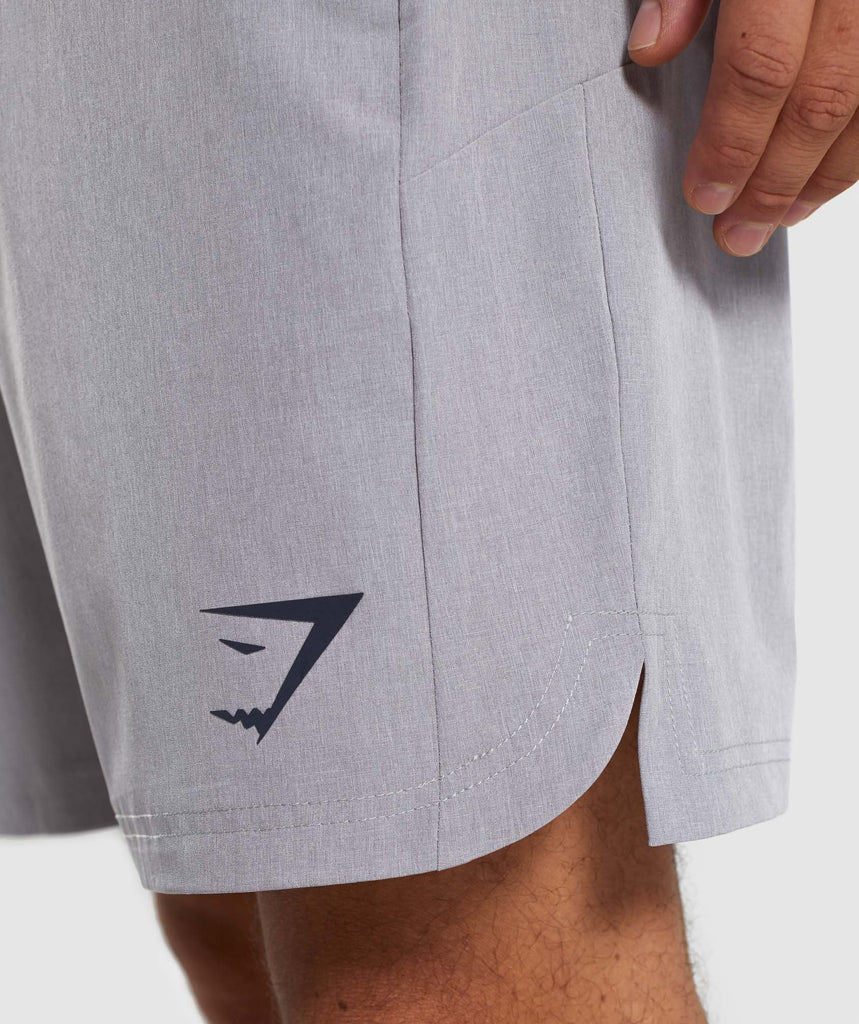 Gymshark Running Shorts - Light Grey 5
