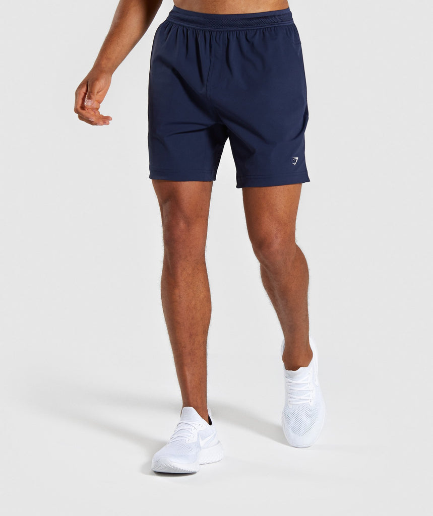 Gymshark Studio Shorts - Blue 1