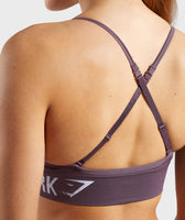 Gymshark Seamless Bralette - Purple Wash 12